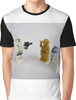 Toy Figure Characters Graphic T-Shirt