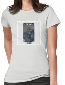 Harambe Blond Womens Fitted T-Shirt
