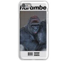 Harambe Blond iPhone Case/Skin