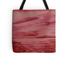 After the storm (red version) Tote Bag