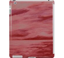 After the storm (red version) iPad Case/Skin