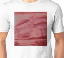 After the storm (red version) Unisex T-Shirt