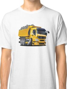 Cartoon Dump Truck Classic T-Shirt