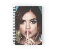 Shh Aria Spiral Notebook