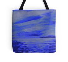 After the storm  (blue version) Tote Bag