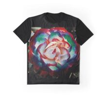 Colorburst rose Graphic T-Shirt