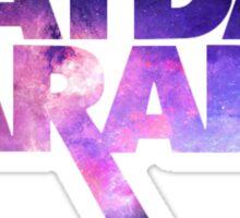 mayday parade galaxy Sticker