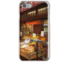City - Boston Ma - Fresh meats and Fruit iPhone Case/Skin
