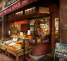 City - Boston Ma - Fresh meats and Fruit by Mike  Savad