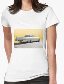 1957 Cadillac Custom Coupe DeVille Womens Fitted T-Shirt