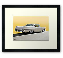 1957 Cadillac Custom Coupe DeVille Framed Print