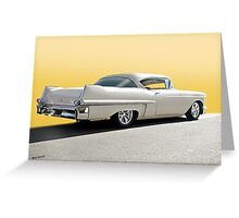 1957 Cadillac Custom Coupe DeVille Greeting Card