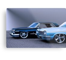 1964 Chevrolet Custom Impala Metal Print