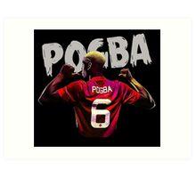 pogba is number six Art Print