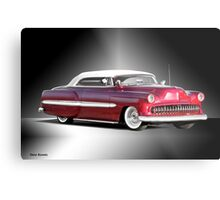 1953 Chevrolet Custom Convertible Metal Print