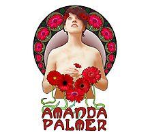 Amanda Palmer - Alphonse Mucha Photographic Print