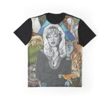 Twin Peaks Laura Palmer Owls Collage Graphic T-Shirt