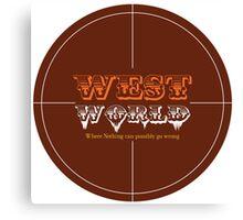 WestWorld Tv Show Canvas Print
