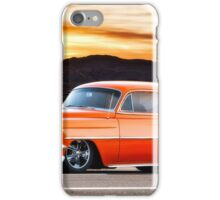 1954 Chevrolet 'Post' Custom Coupe iPhone Case/Skin