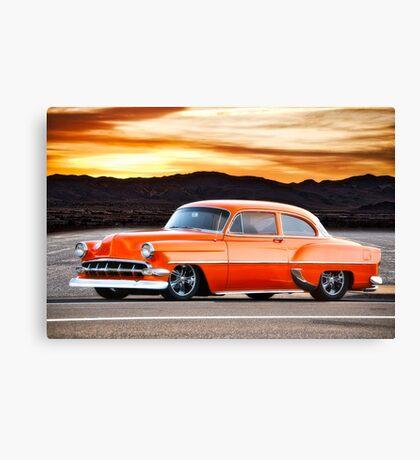 1954 Chevrolet 'Post' Custom Coupe Canvas Print