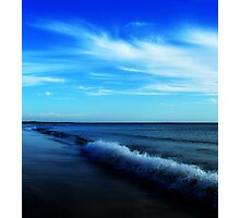 In the light of a blue moon Photographic Print