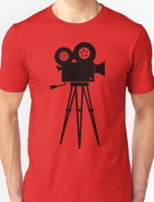 Film Camera Movies Photography Vintage Retro Unisex T-Shirt