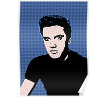 Rock God Elvis Poster