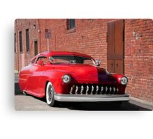 1951 Mercury 'No Parking' Custom Coupe Canvas Print