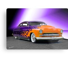 1950 Mercury 'Hot Wheels' Custom Coupe Metal Print