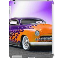 1950 Mercury 'Hot Wheels' Custom Coupe iPad Case/Skin