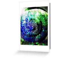 Falling Into the Vortex Greeting Card