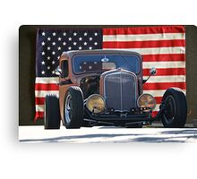 1936 Chevrolet 'Patriot' Pickup Canvas Print
