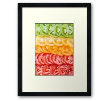 You say tomato Framed Print