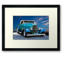 1932 Ford 'V8 Ragtop' Roadster Framed Print