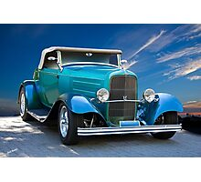 1932 Ford 'V8 Ragtop' Roadster Photographic Print