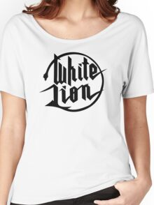White Lion logo Women's Relaxed Fit T-Shirt