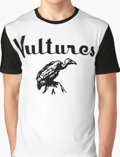Vultures Retro Graphic T-Shirt