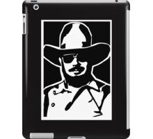 HANK WILLIAMS JR.  II iPad Case/Skin