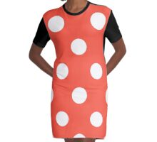 Polka Grande Graphic T-Shirt Dress