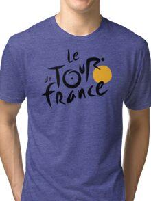 Tour De France Bicycle Racing Tri-blend T-Shirt