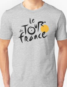 Tour De France Bicycle Racing Unisex T-Shirt