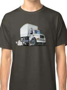 Cartoon delivery/cargo truck Classic T-Shirt