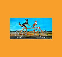 Bicycle Dogs Unisex T-Shirt
