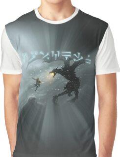 Dovahkiin fight Alduin Graphic T-Shirt