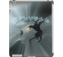 Dovahkiin fight Alduin iPad Case/Skin
