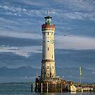 Lindau Lighthouse by Xandru