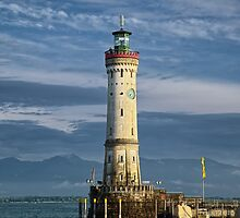 Lindau Lighthouse by Xandru