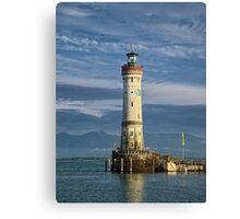 Lindau Lighthouse Canvas Print