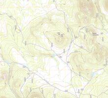 USGS TOPO Map Arizona AZ Squaw Mountain 20120515 TM Sticker