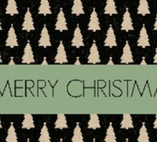 Happy Christmas Design A Sticker
